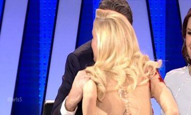 Το φιλί της Δούκισσας Νομικού στον Γιάννη Λάτσιο