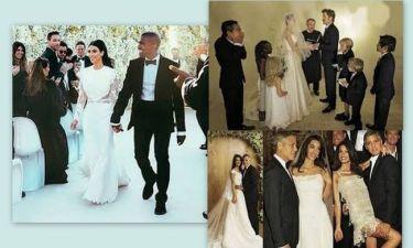Οι γάμοι των ξένων celebrities που συζητήθηκαν μέσα στη χρονιά