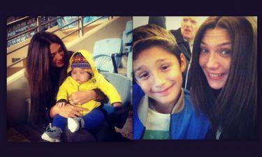 Αγγελική Ηλιάδη: Το φωτογραφικό της άλμπουμ με τα παιδιά της