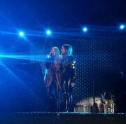Δέσποινα Βανδή: Τραγούδησε στην Κύπρο με την Μαρία Έλενα Κυριάκου