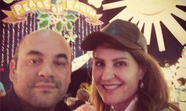 Χριστούγεννα στην Disneyland για την Νία Βαρντάλος