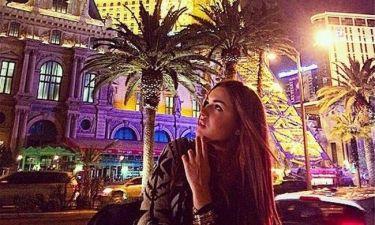 Ντένια Αγαλιανού: Γιορτές στο Λας Βέγκας