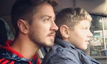 Ο Νίκος Γκάνος μαθαίνει τον ανιψιό του να οδηγεί