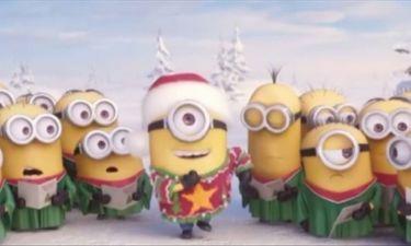 Θα ξετρελαθείτε! Δείτε τα minions σε...χριστουγεννιάτικο mood