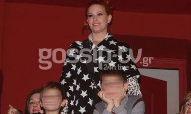 Σίσσυ Χρηστίδου: Με το γιο της σε φιλανθρωπική εκδήλωση!
