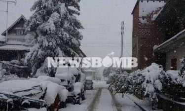Ο καιρός τις επόμενες ώρες – Σε ποιες περιοχές θα χιονίσει