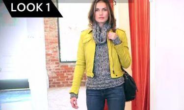 Τέσσερις διαφορετικοί τρόποι για να φορέσεις το ίδιο πουλόβερ!