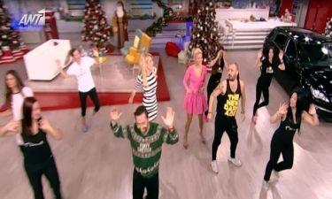 Η Σκορδά χορεύει παρούμπα, όπως ο Σταν και η Πάολα και ο Λιάγκας της «την λέει»!