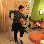 Χρήστος Σπανός: Θα χορέψει στο «Dancing With The Stars» μετά τον τραυματισμό