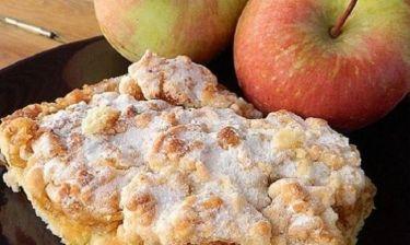 Συνταγή για πεντανόστιμη μηλόπιτα!