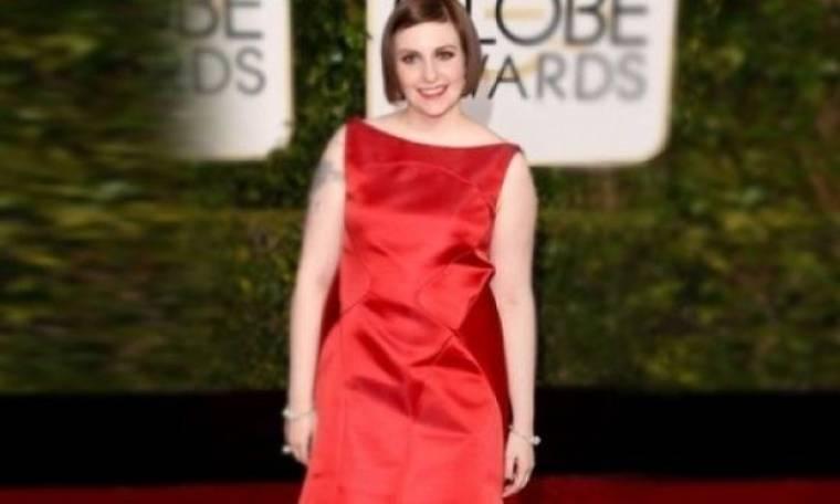 Το σοκ των Golden Globes: Γιατί η Lena Dunham μας άφησε με το στόμα ανοιχτό;
