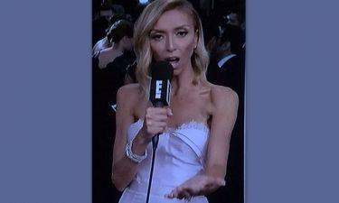 Χρυσές Σφαίρες: Η εικόνα της παρουσιάστριας που προκάλεσε αντιδράσεις