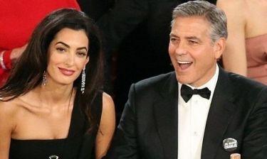 Χρυσές Σφαίρες: Η ερωτική εξομολόγηση  του George Clooney στην Amal!