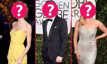 Το απόλυτο ερωτικό τρίγωνο των Golden Globes: Πώς αντέδρασαν οι 3 superstars;