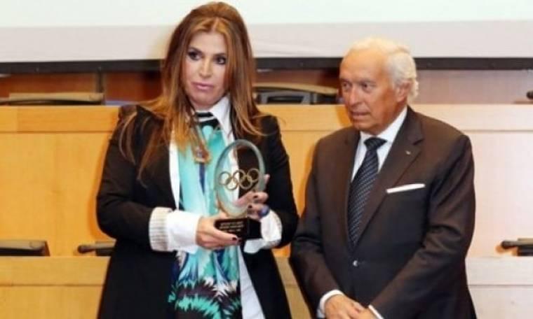 Μίνα Παπαθεοδώρου-Βαλυράκη: Τελετή  Απονομής από την ΔΟΕ στην Ελληνική Ολυμπιακή Επιτροπή
