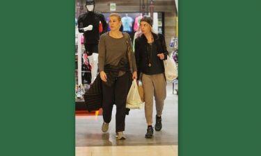 Ράνια Θρασκιά: Με στυλ αθλητικό για ψώνια