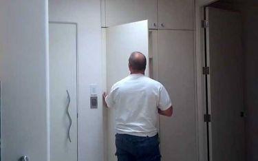 Και όμως… Αυτή η ντουλάπα κρύβει ένα μυστικό! (video)
