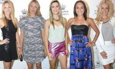 Η Εζενί Μπουσάρ έλαμψε στο πάρτι του τένις στη Μελβούρνη (video+photos)