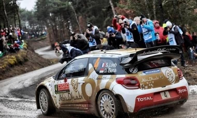 WRC ράλλυ Μόντε Κάρλο: Από τα σαλόνια στα χιόνια