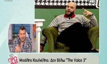 Τα «πήρε» ο Λιάγκας με την δήλωση του Stavento για το Voice! Δείτε πώς αντέδρασε