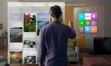 Ολογραφική πλατφόρμα για υπολογιστές από την Microsoft