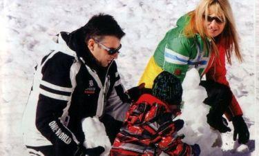 Σκορδά-Λιάγκας: Οικογενειακές στιγμές στα χιόνια