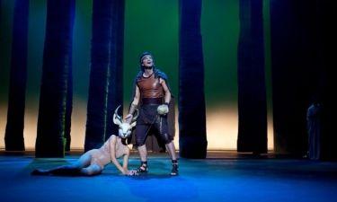 Δε θα πιστεύετε ποια κάνει το ελάφι στην παράσταση «Ηρακλής, οι 12 άθλοι»