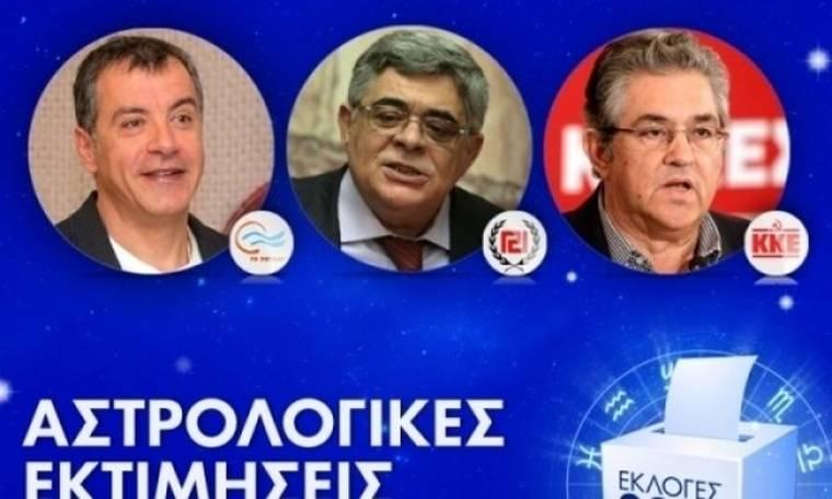 Εκλογές 2015: ΚΚΕ, Ποτάμι και Χρυσή Αυγή - Οι μνηστήρες της τρίτης θέσης