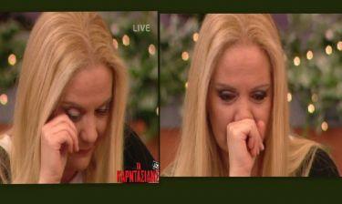 Έλντα Πανοπούλου: Έβαλε τα κλάματα στον «αέρα» της εκπομπής «Τα Καρντάσιας»