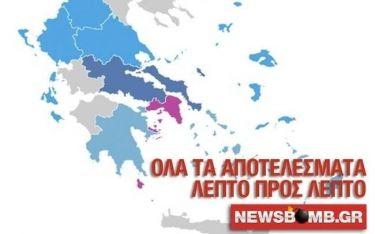 Eκλογές 2015: Μάθετε πρώτοι τα αποτελέσματα από το newsbomb.gr