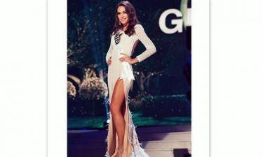 Θρίαμβος της Νταφοπούλου: Πέρασε στον τελικό των καλλιστείων «Miss Universe» (φωτό)