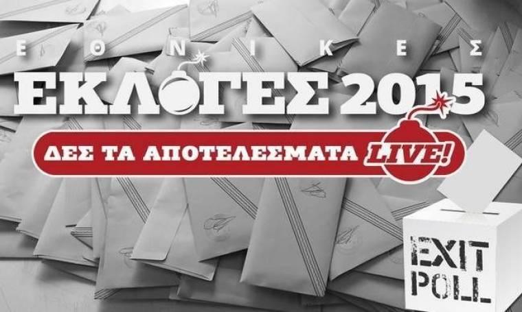 Exit polls 2015: Τα αποτελέσματα του exit poll του ANT1 για τις εκλογές