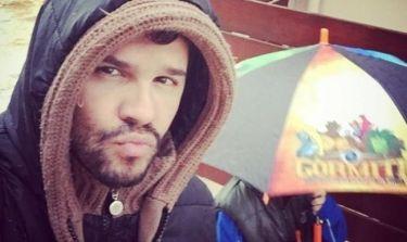 Γιώργος Τσαλίκης: Βόλτα παρά τη βροχερή μέρα!