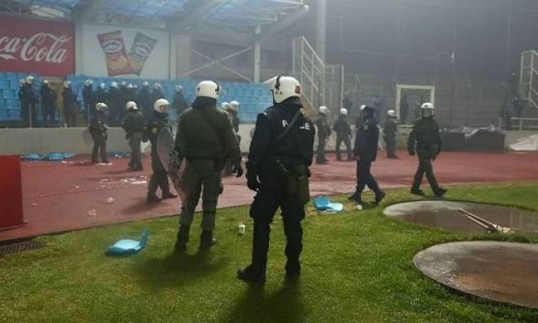 Οι προθέσεις του Πανούση για την αστυνόμευση στα γήπεδα