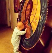 H απίστευτη και συγκινητική φωτογραφία του γιου της;