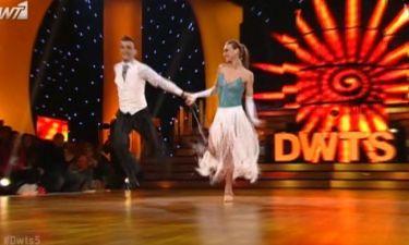Το quick step της Μορφούλας Ντώνα στον τελικό του «Dancing»
