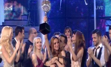 Η Μορφούλα Ντώνα η μεγάλη νικήτρια του «Dancing with the stars 5»
