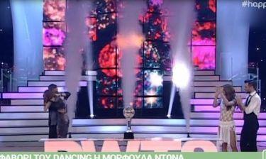 Ο εκνευρισμός της Δανδουλάκη στο Dancing with the stars, που έπιασε η κάμερα
