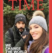 Εξώφυλλο στο… Time Οικονομάκου-Μουζουράκης