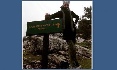 Ο Μουζουράκης στα βουνά