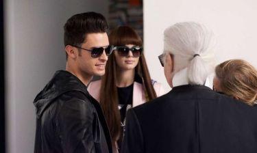 Η Kendall Jenner φωτογραφήθηκε για τον Karl Lagerfeld