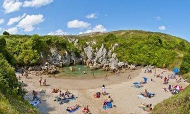 Μια παραλία στη μέση του πουθενά! (pics)