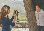 Μαμά και κόρη  για σκι στο Παρνασσό! Τις αναγνωρίζετε;