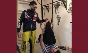 Χρήστος Σπανός: Μετά τον τραυματισμό του…ξεκίνησε γυμναστική!