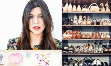 Η Kourtney Kardashian ανοίγει το σπίτι της - και τη ντουλάπα της - και μας αφήνει άφωνους!
