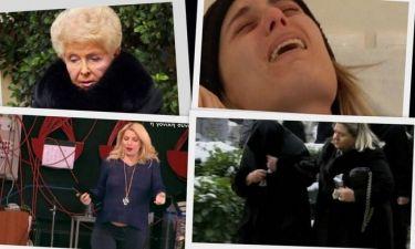 Το σοκ του θανάτου της κόρης της Βέφας, η κατάρρευσή της στην κηδεία και το ανοιχτό μικρόφωνο που πρόδωσε την Ελένη!