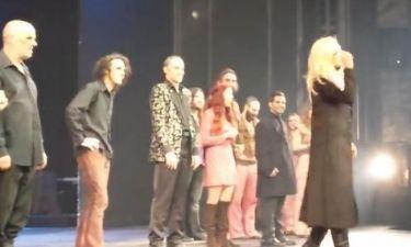 Η συγκίνηση της Άννας Βίσση στη σκηνή