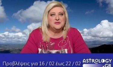Οι προβλέψεις της εβδομάδας 16/2 έως 22/2 σε video, από τη Μπέλλα Κυδωνάκη