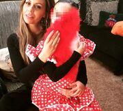 Ιωάννα Λίλη: Με την κόρη της μετά από αποκριάτικο πάρτυ (φωτο)