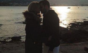 Βάσω Κολιδά: Το τρυφερό φιλί στον αγαπημένο της